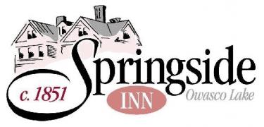 The logo for Springside Inn